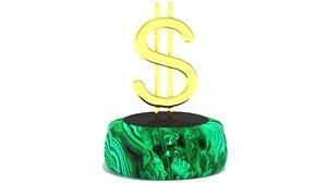 dollar symbol model