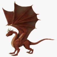 pbr dragon 3D model