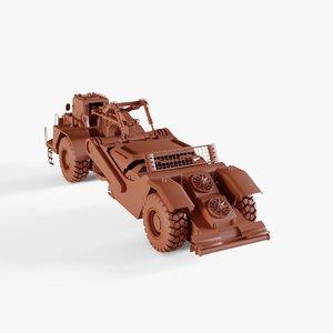 wheel tractor-scraper model