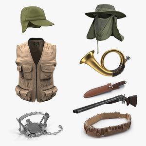 hunting equipment 4 model