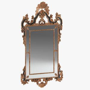 3D mirror 04 model