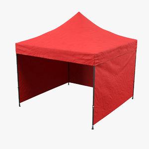 3D model tent