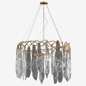 3D model niagara chandelier