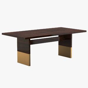 nota bene table 3D model
