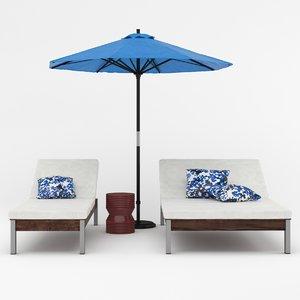 outdoor set 01 model