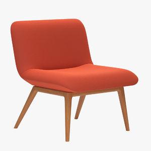 3D november lounge seating model