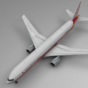 3D model taag boeing 777-300er l562