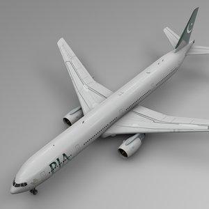 pia boeing 777-300er l561 3D model