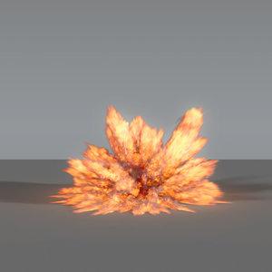 3D explosion - 02 vdb