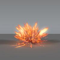 Fire Explosion 03 - VDB