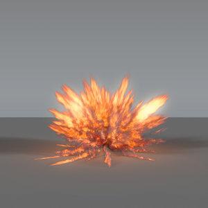 explosion - 03 vdb 3D model