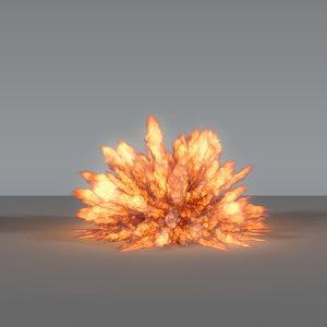 3D model explosion - vdb