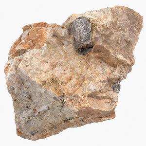3D stone piece 1