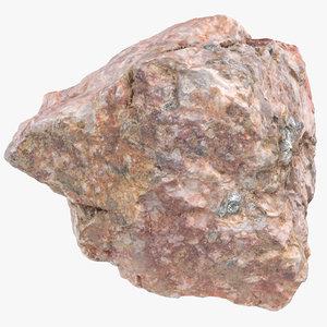 3D stone piece 2