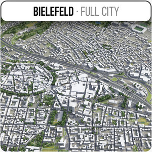 bielefeld surrounding - model
