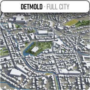 detmold surrounding - 3D model