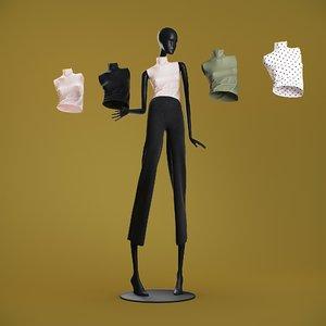tops cloth mannequin model