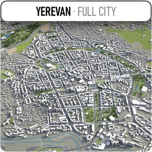 yerevan surrounding - model