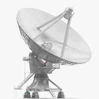 Big Satellite Antenna Rotate and Tilt Rigged for Maya