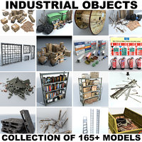 object industrial factory 3D model