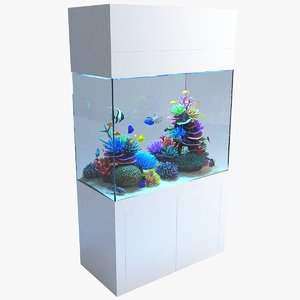 3D model aquarium 03