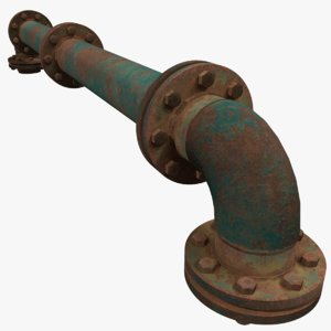 pipe manifold 3D