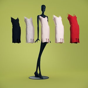 dresses cloth mannequin model