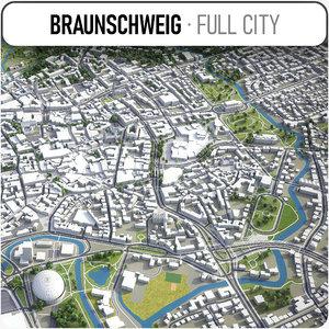 braunschweig surrounding - model