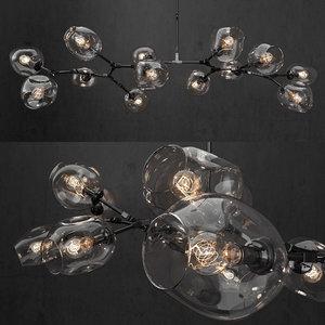 branching bubble 3D model