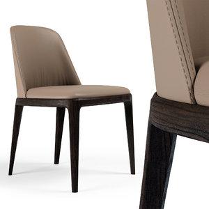 grace chair poliform 3D