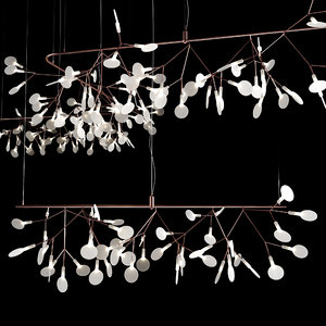 moooi heracleum chandelier 3D model