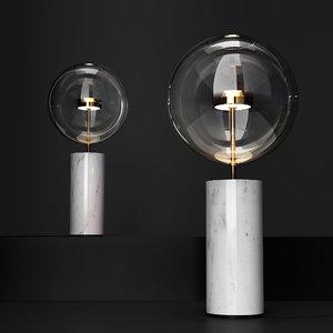 table lamp soffio bolle 3D model