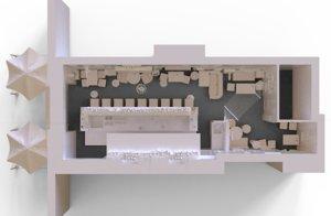 3D pub complete model