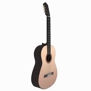 guitar instrument 3D