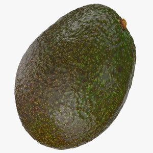 3D avocado 06