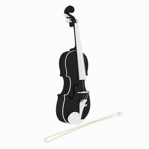 music instrument violin model