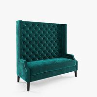 3D eichholtz sofa spectator model
