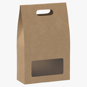 3D bag paper recycled
