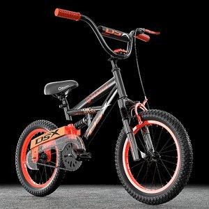 3D razor dual suspension bmx bike