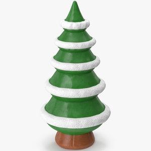christmas tree figurine 5 3D model