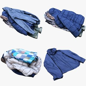 3D jacket fashion clothing