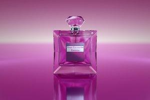 3D womans perfume bottle