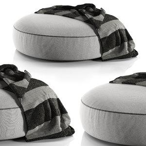 elise pouf poliform model