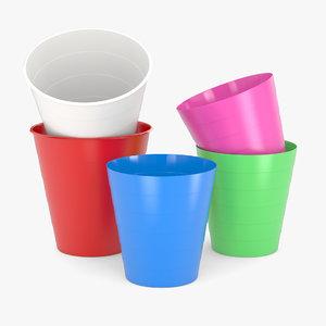 ikea fniss waste bin 3D model