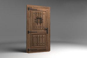 3D door visualization model