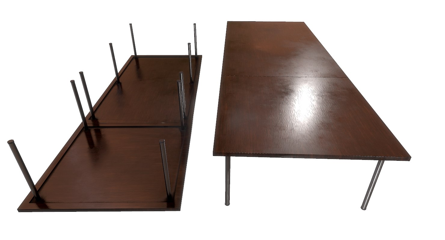 office table model