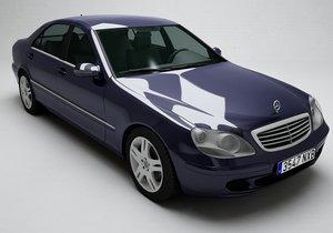 3D mercedes-benz s-class 2003