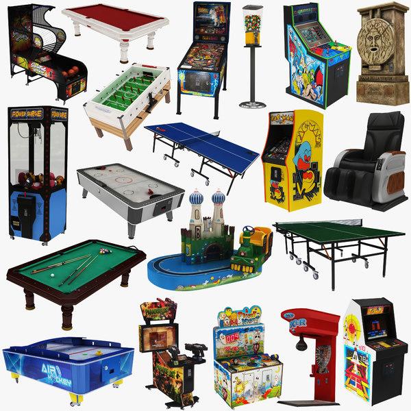 3D big arcade machine 20