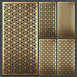 decorative partitions model