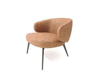 lema bice armchair 3D model